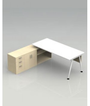 Sonic - Table Combine with Cabinet